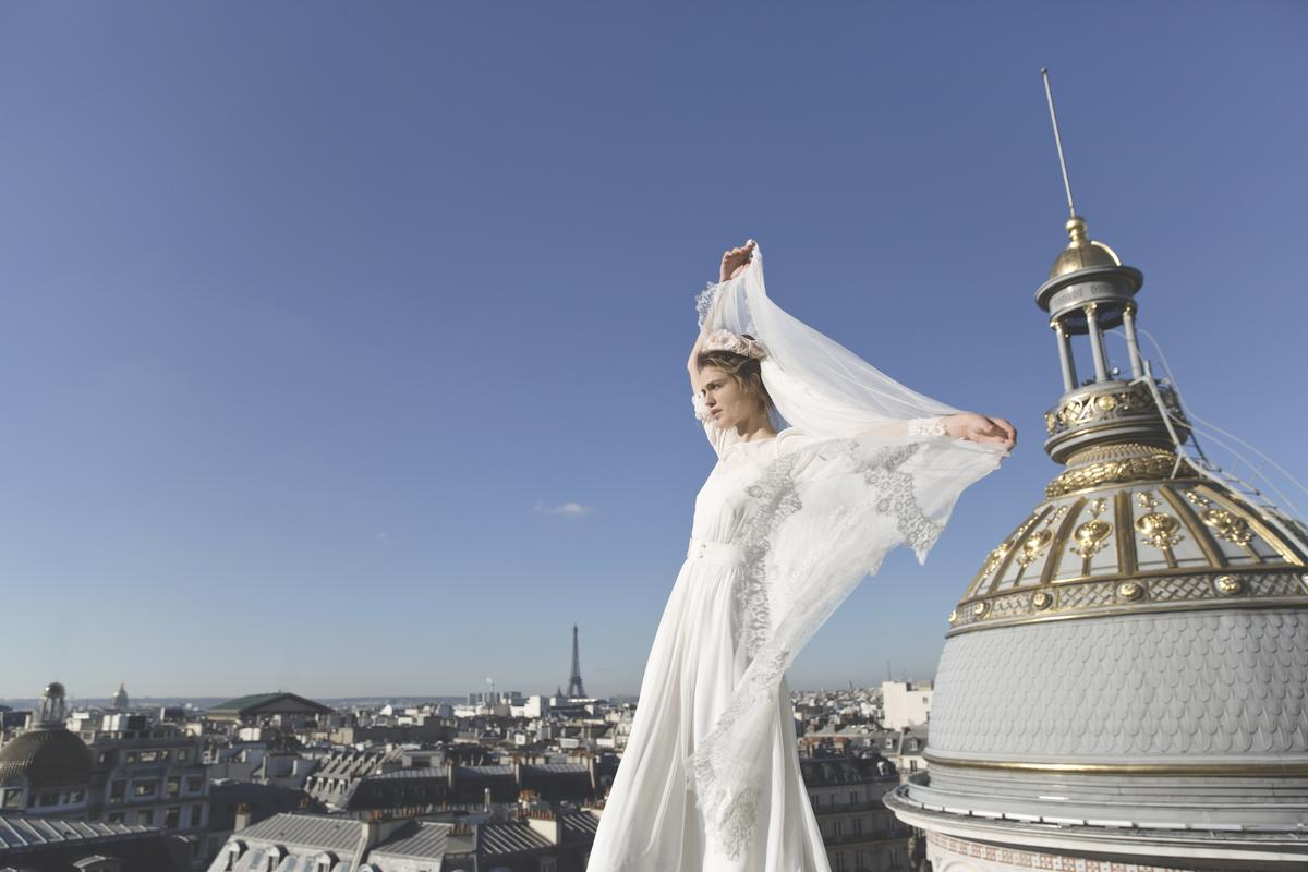Frida la robe de mari e d 39 lise hameau pour maria luisa for Robes pour le mariage de printemps