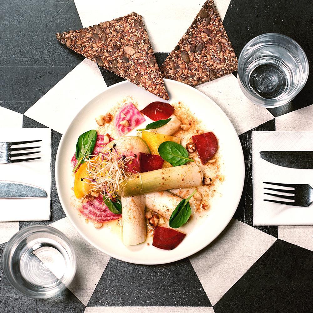 Recette poireaux vinaigrette du caf pinson cuisine - Madame figaro cuisine ...