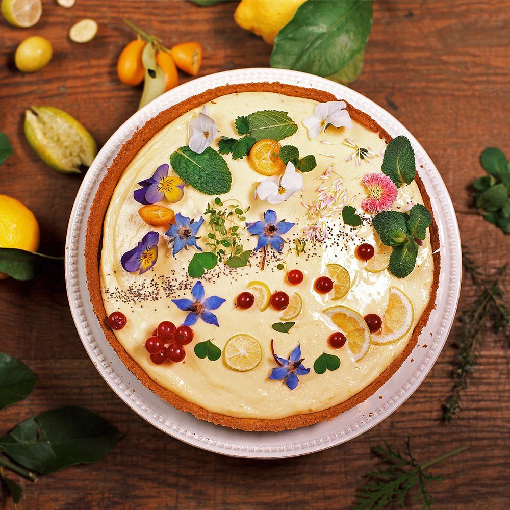 Recette tarte au citron et verveine cuisine madame figaro - Tarte au citron herve cuisine ...