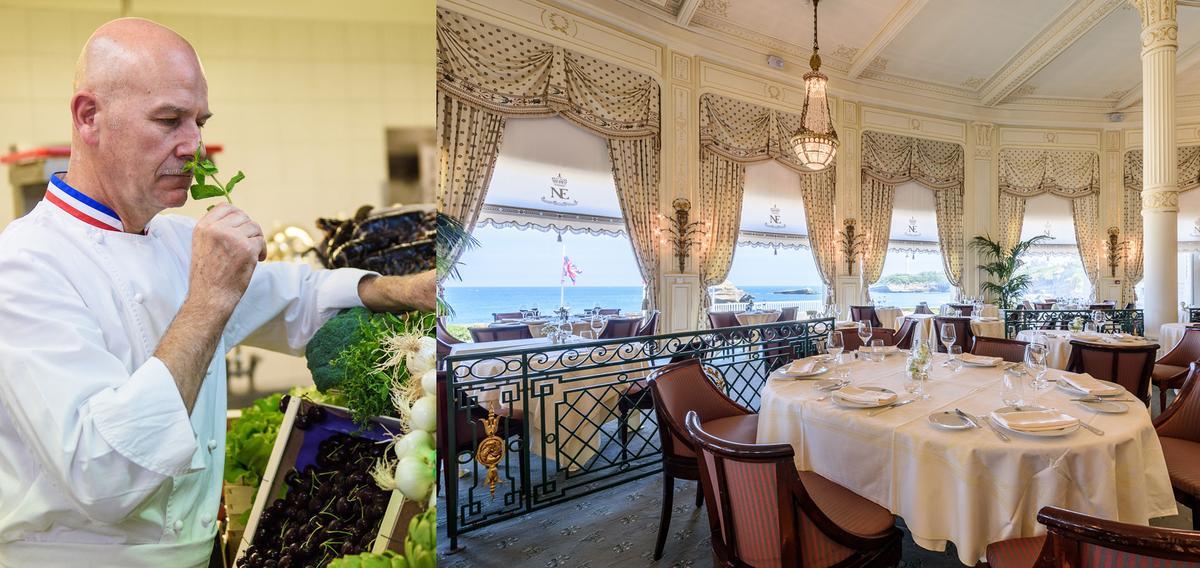 coup de food la villa eug nie au palais cuisine ForChambre De Commerce Biarritz