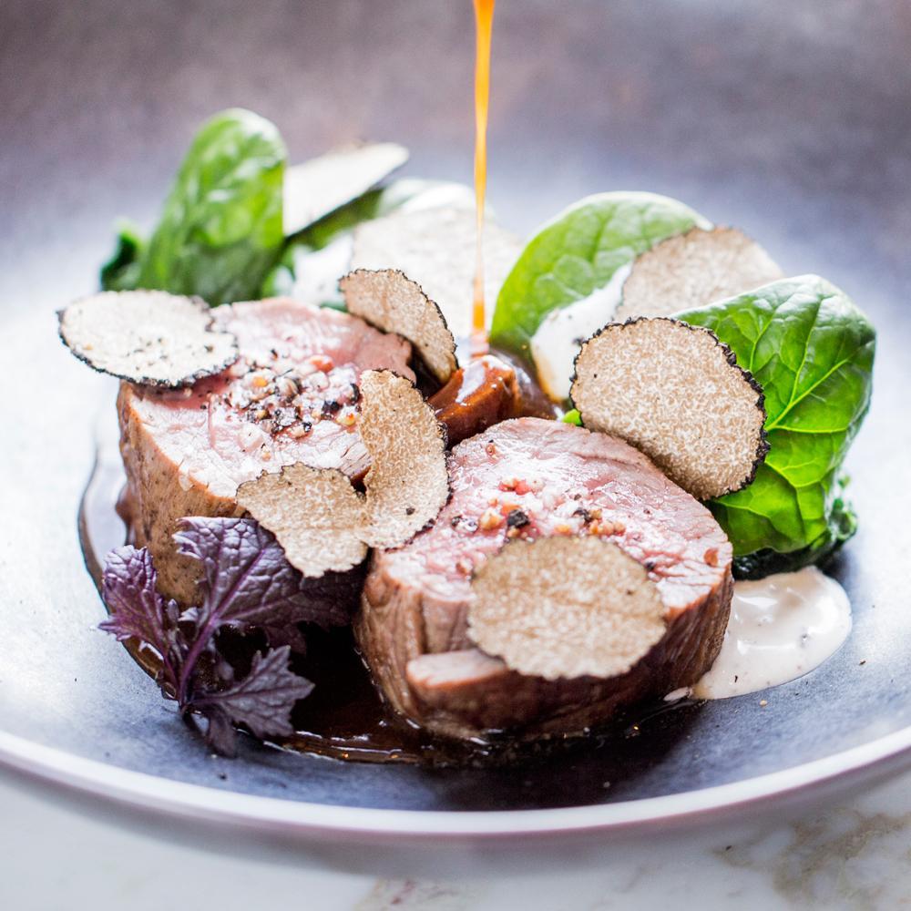 Recette mignon de veau pinards mascarpone et truffe noire - Comment cuisiner les truffes noires ...