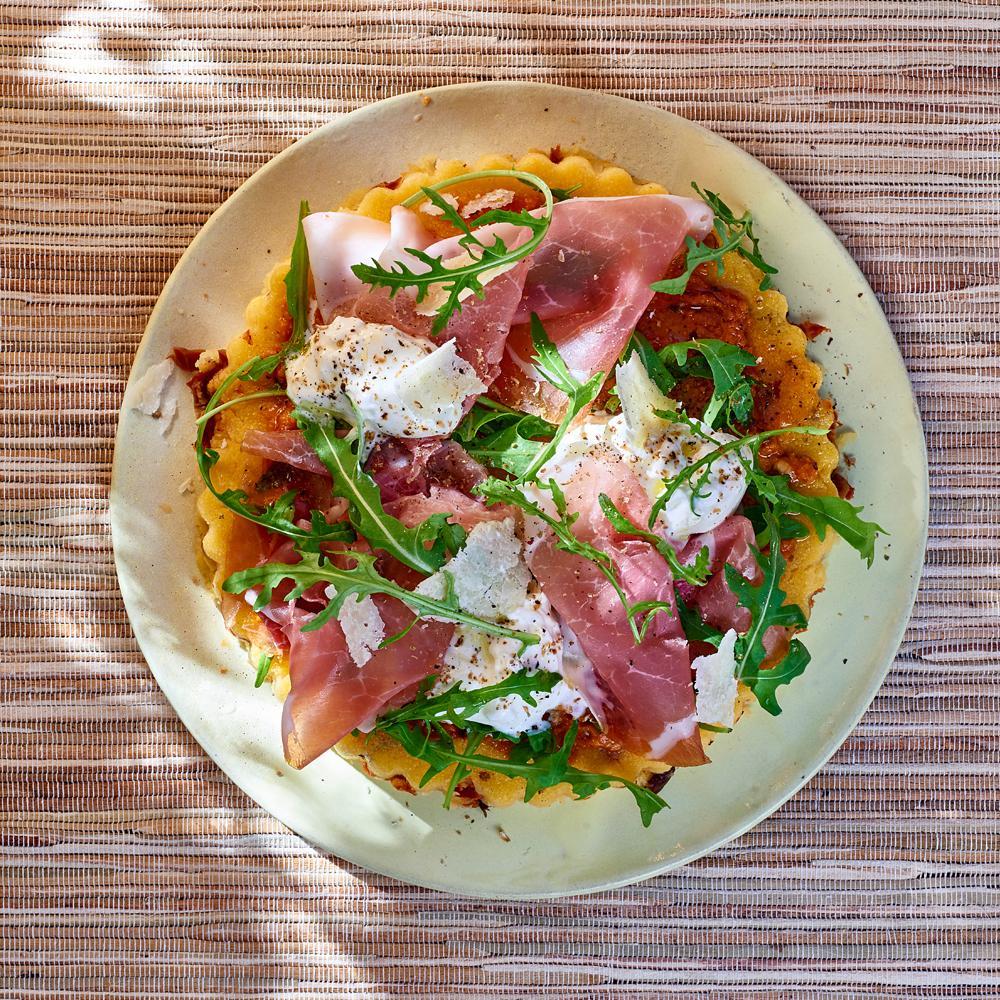 Recette pizza de polenta cuisine madame figaro - Madame figaro cuisine ...