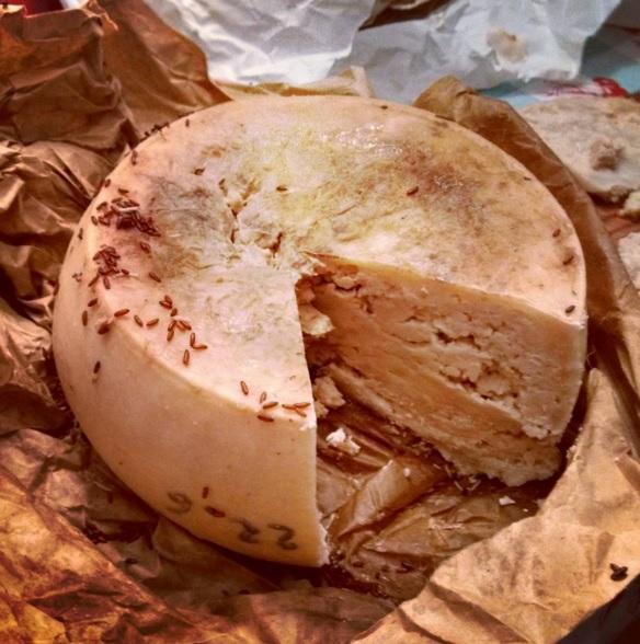americain mange fromage