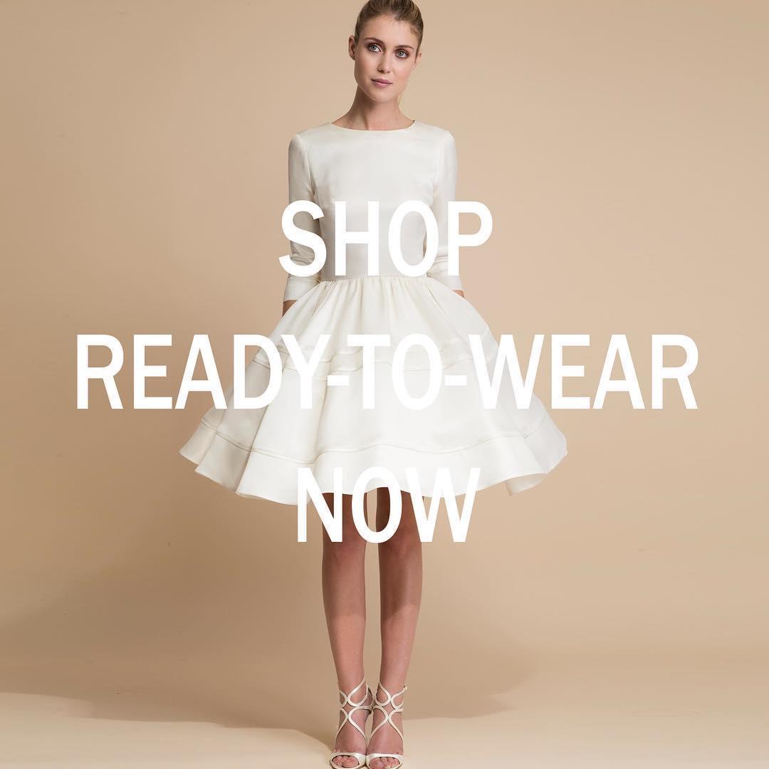 Delphine Manivet ouvre sa boutique en ligne de robes de mariée...