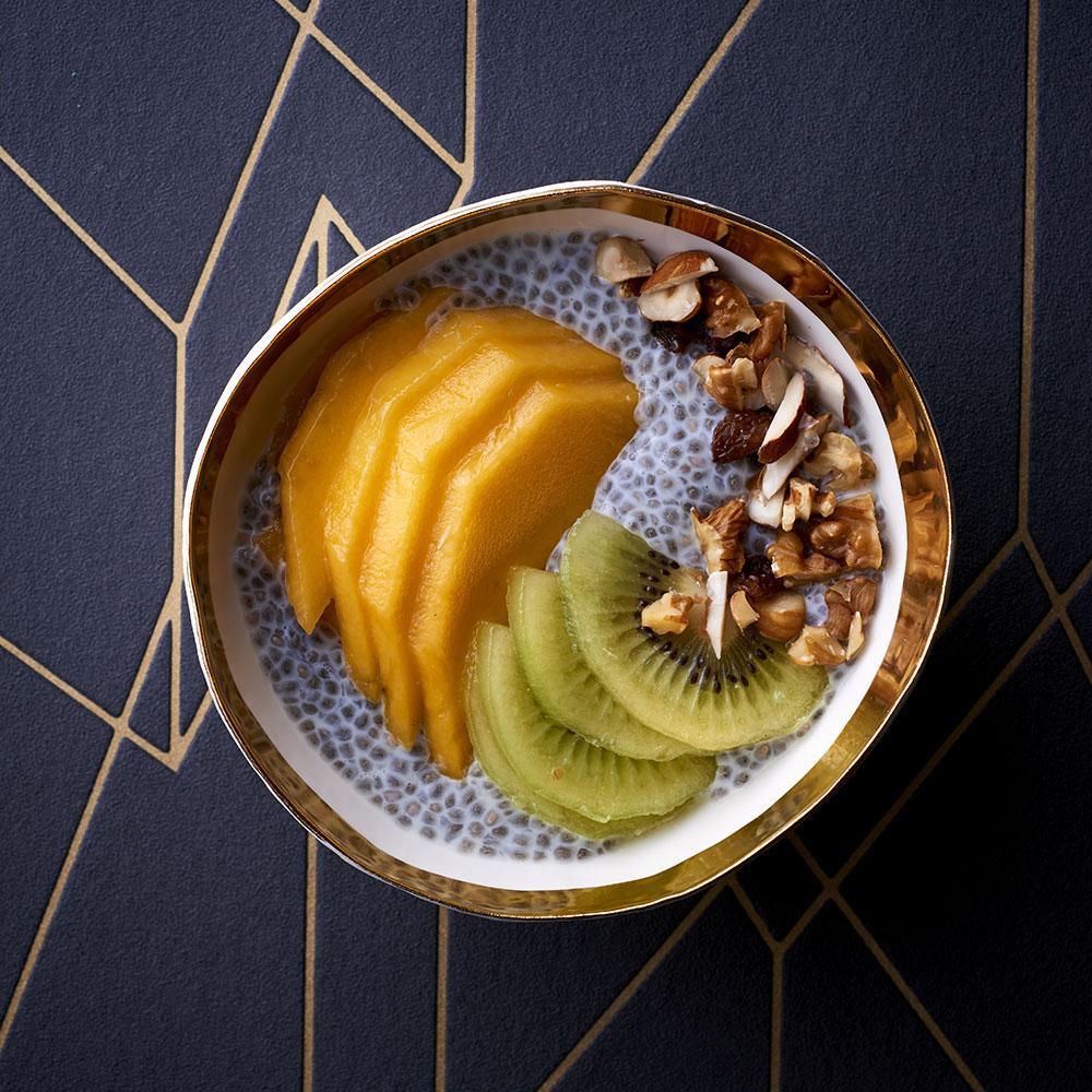 Recette pudding de chia pour petit d jeuner express cuisine madame figaro - Recette pour petit dejeuner ...