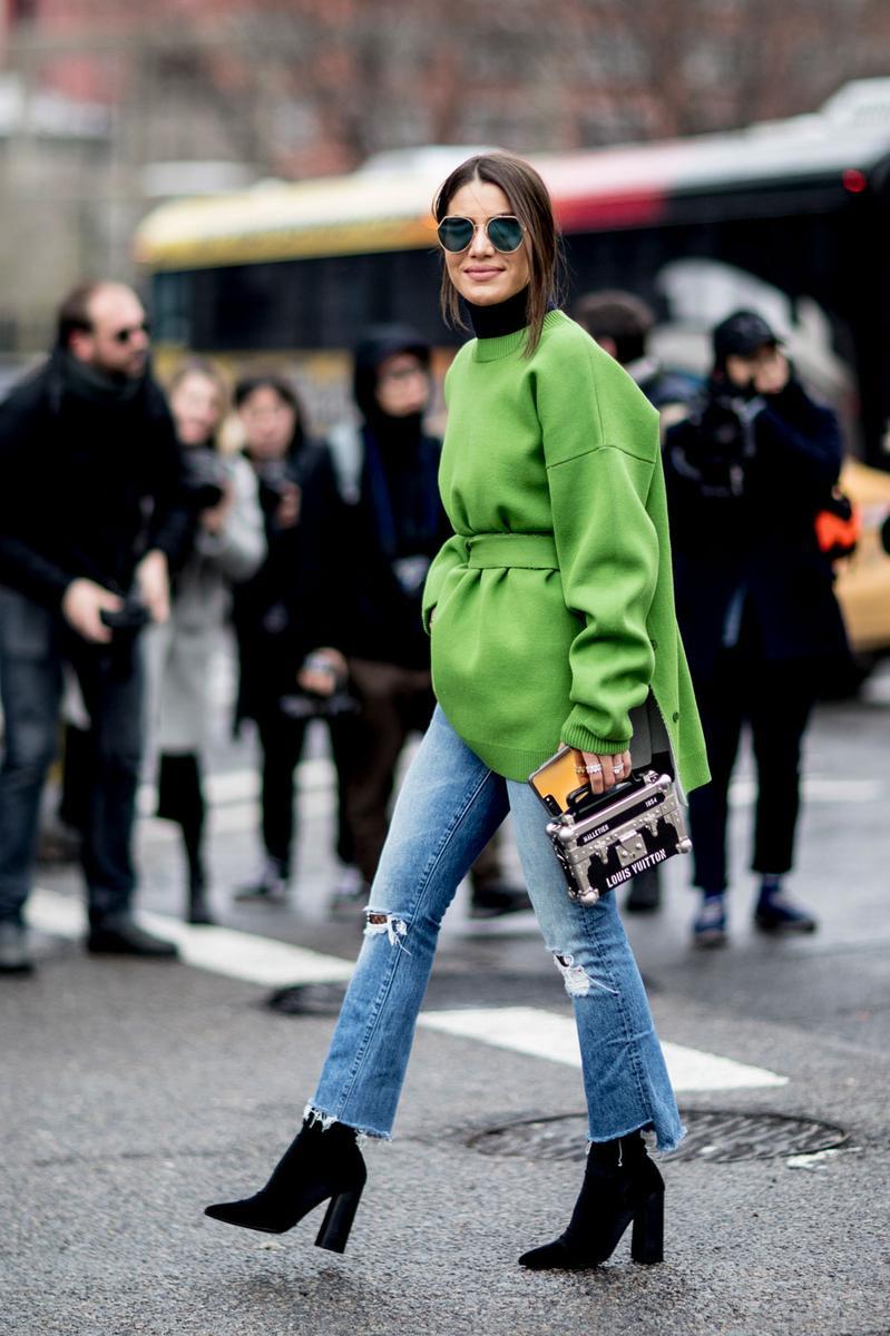 fashion week le style des modeuses new yorkaises l 39 preuve du froid madame figaro. Black Bedroom Furniture Sets. Home Design Ideas