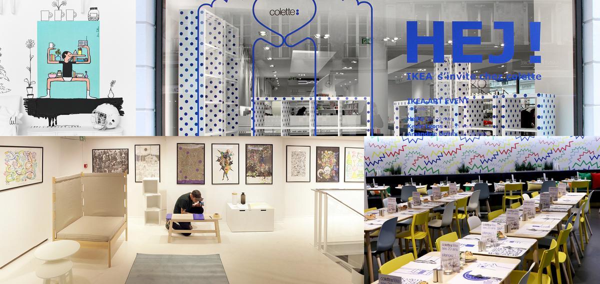 Ikea s invite chez colette pour une collab 39 in dite - Les commodes chez ikea ...