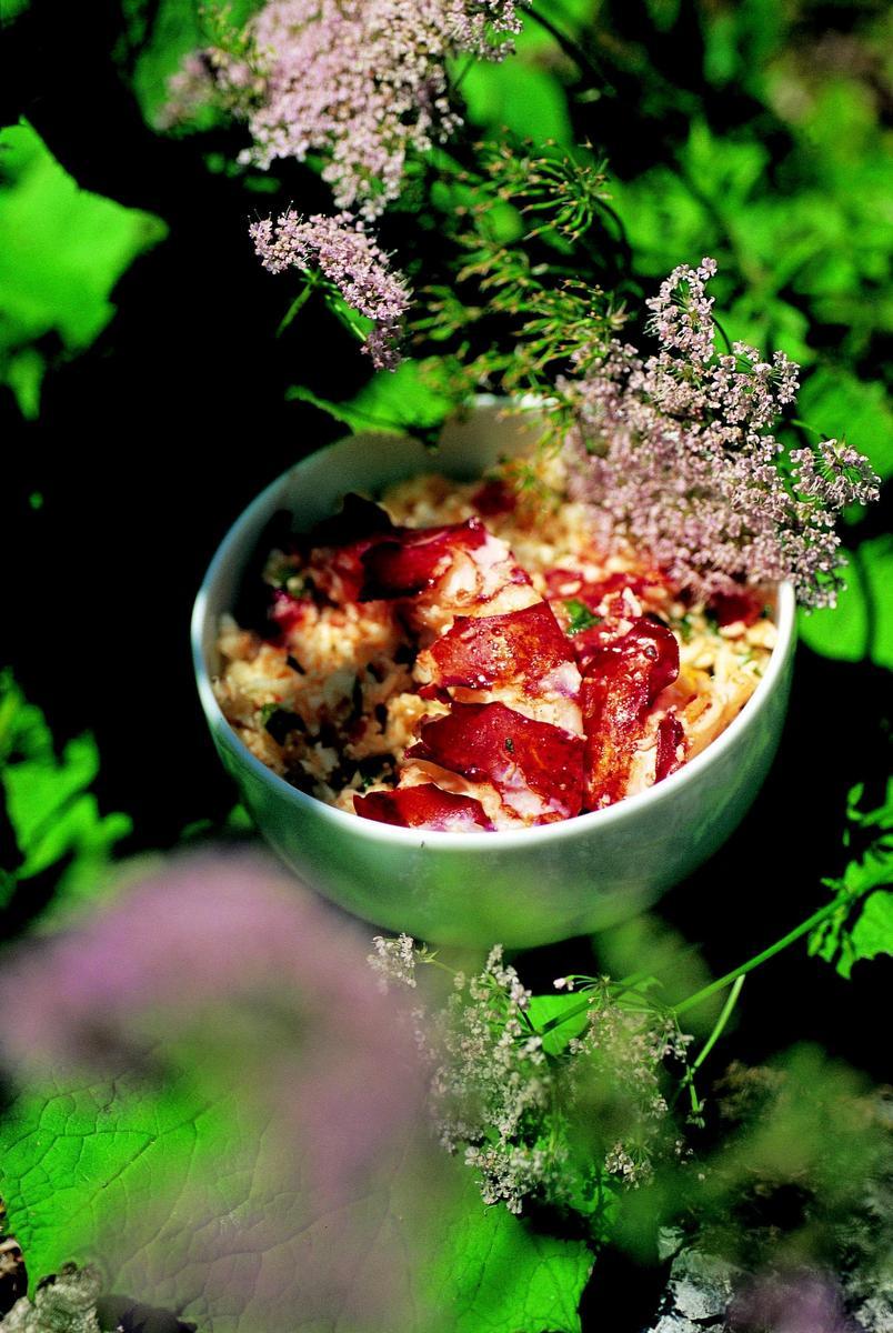 recette semoule de chou fleur et homard cuisine madame figaro. Black Bedroom Furniture Sets. Home Design Ideas