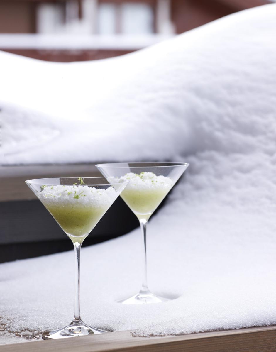 recette granit au g n pi poire et citron vert cuisine madame figaro. Black Bedroom Furniture Sets. Home Design Ideas