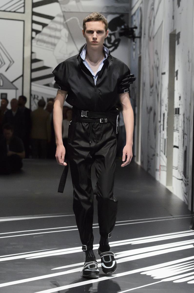 Défilé Prada Printemps-été 2018 Homme