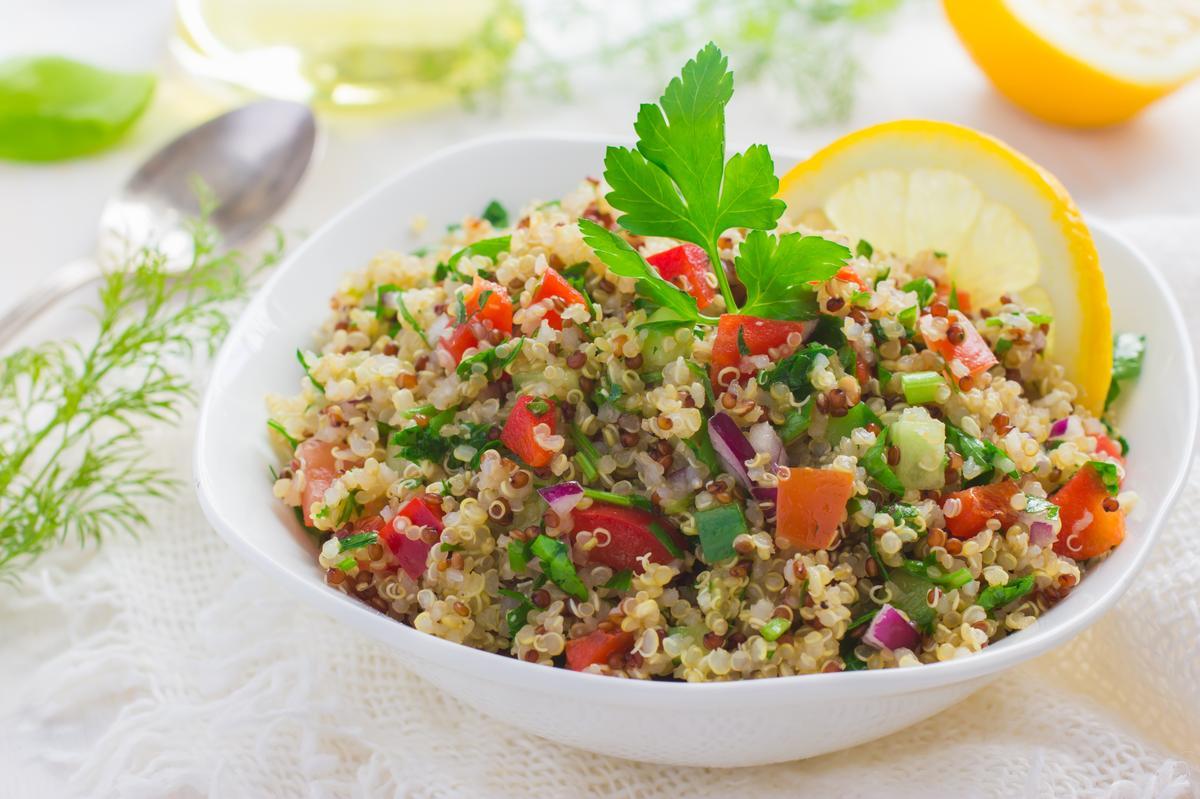 Recette taboul de quinoa cru cuisine madame figaro for Cuisine quinoa