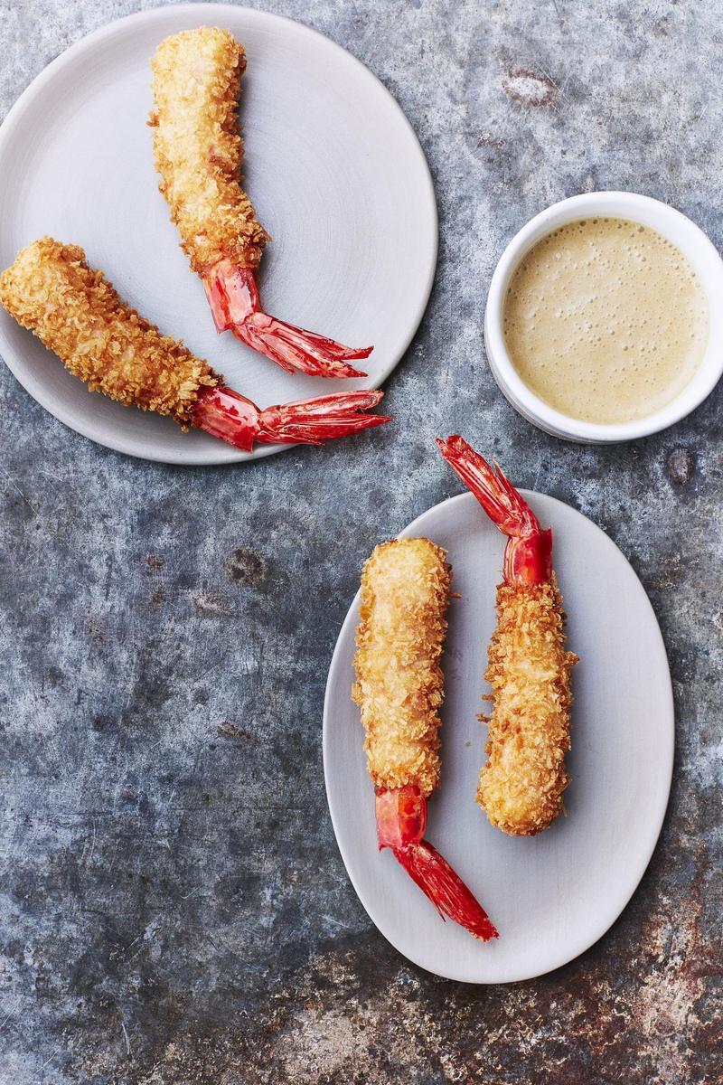 Recette gambas en tempura sauce citronnelle cuisine madame - Recette amuse bouche rapide ...