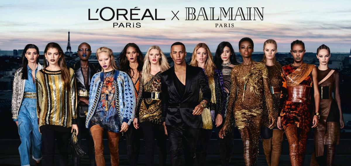 L'Oréal Paris et Balmain : une collaboration maquillage inédite