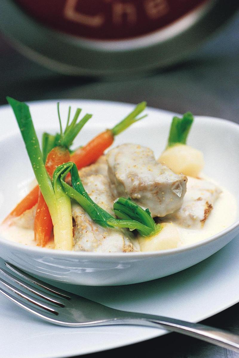 Recette blanquette de veau des familles cuisine madame - Recette de cuisine blanquette de veau ...