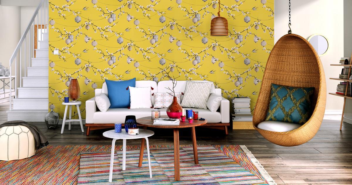 Pour réveiller la maison place au jaune madame figaro