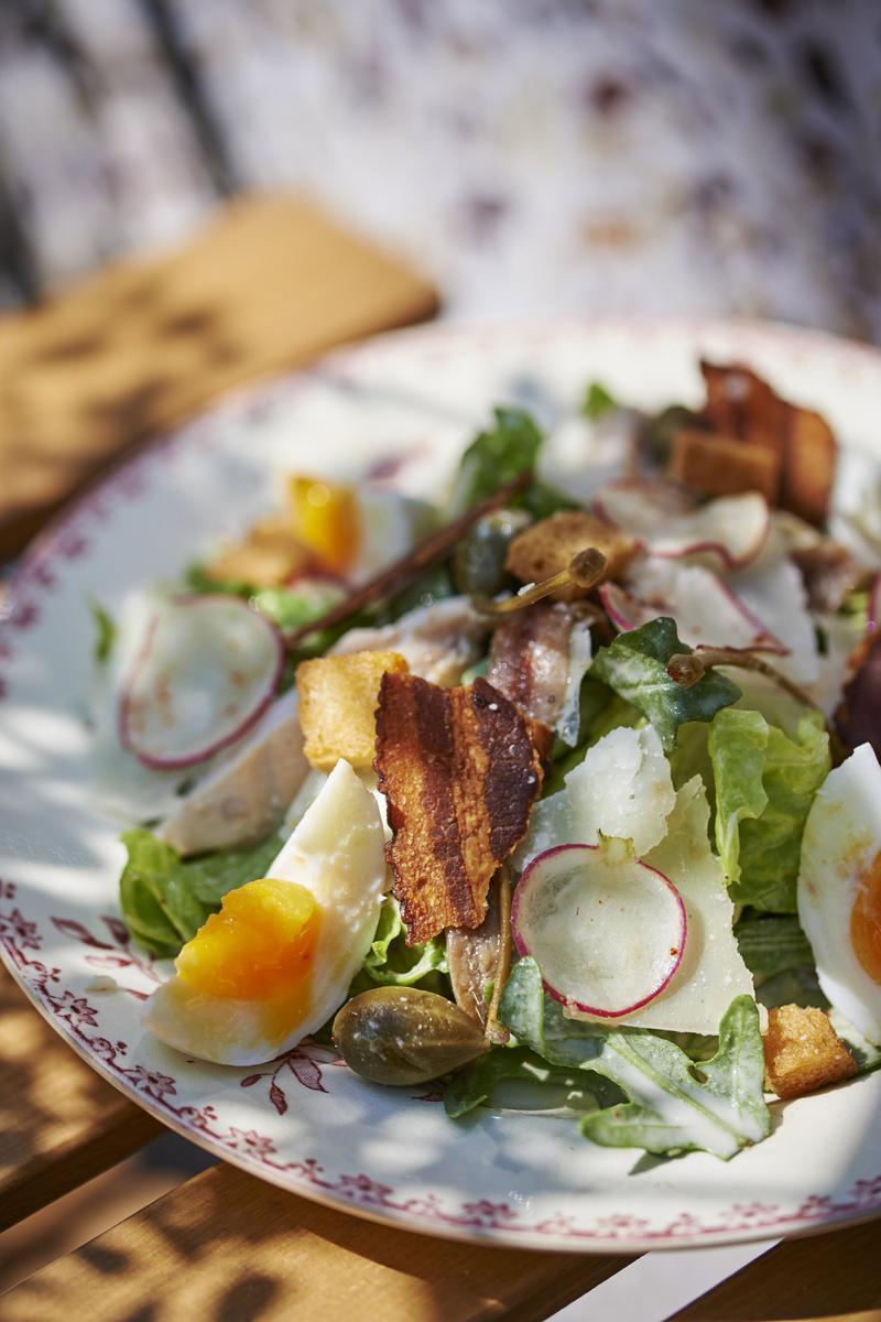 Recette salade c sar cuisine madame figaro for Cuisine cesar prix