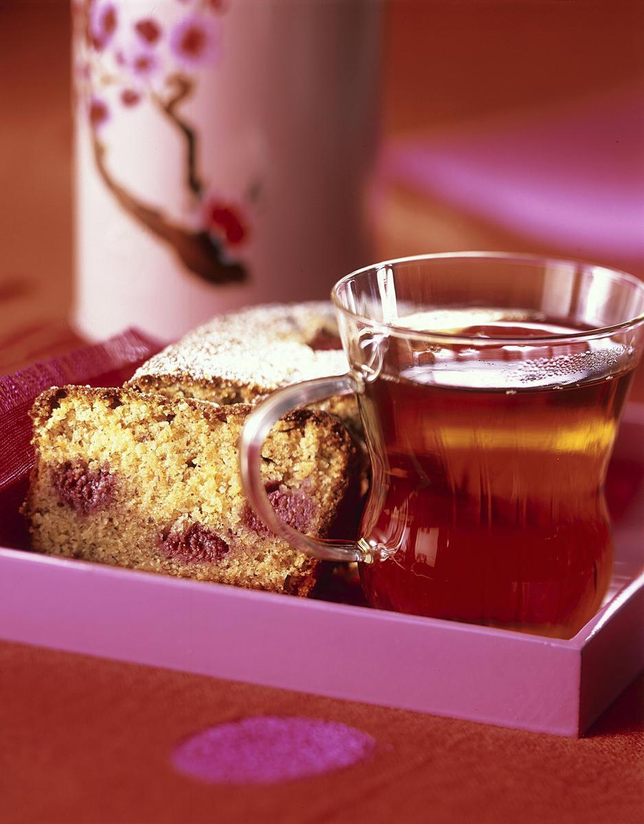 recette cake au citron amandes et framboises cuisine. Black Bedroom Furniture Sets. Home Design Ideas