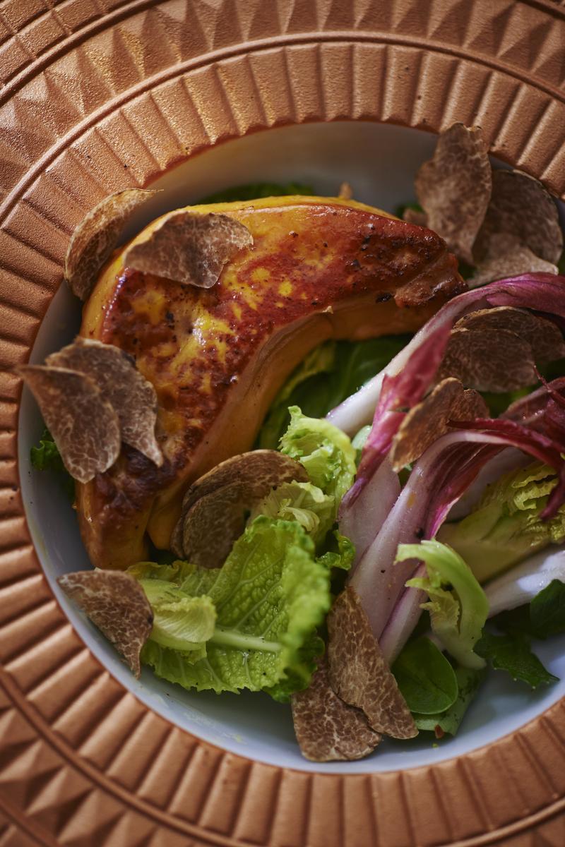 Recette foie gras po l et endive cuisine madame figaro - Recette du foie gras ...
