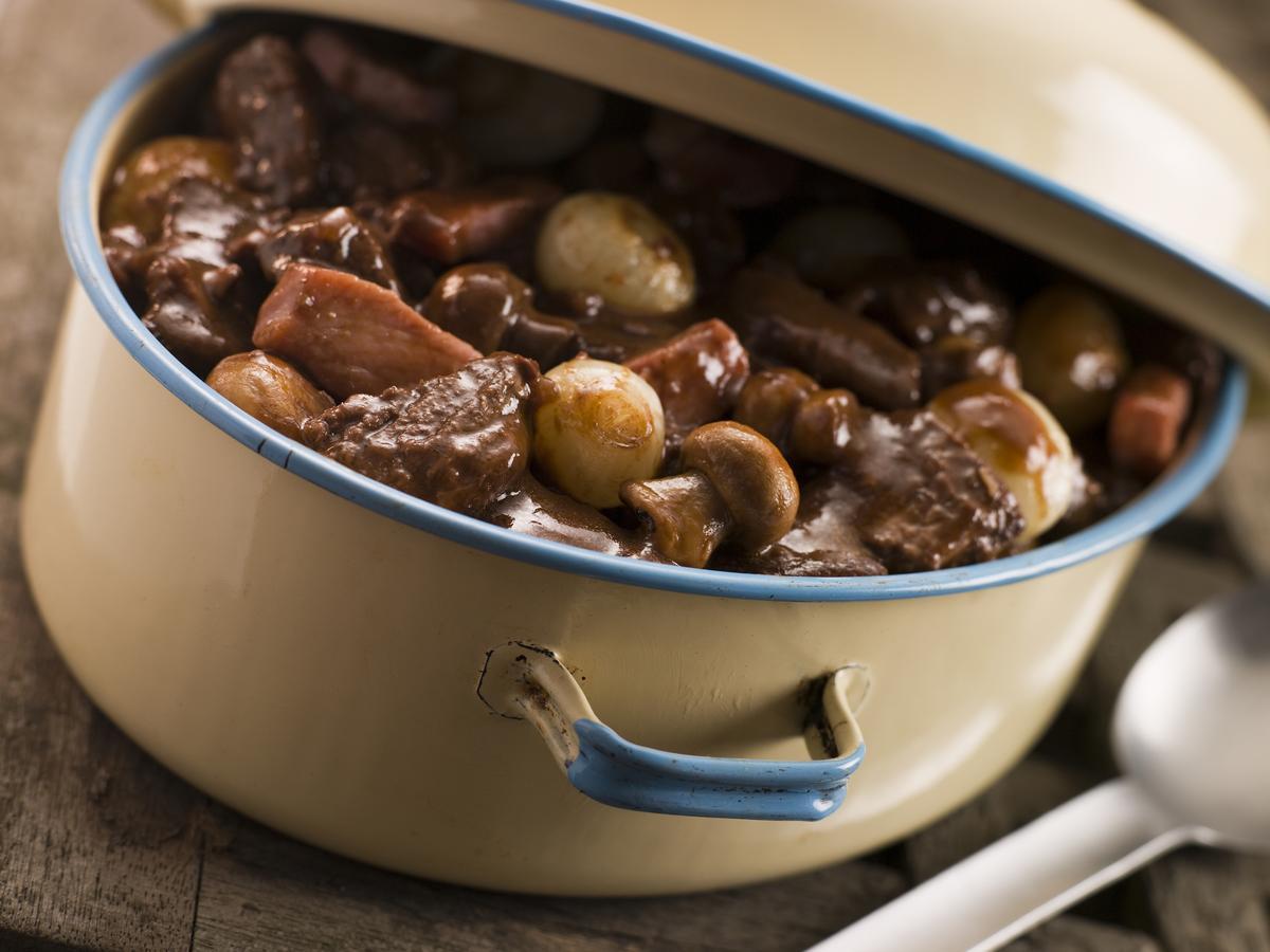 Recette le b uf bourguignon cuisine madame figaro - Madame figaro cuisine ...