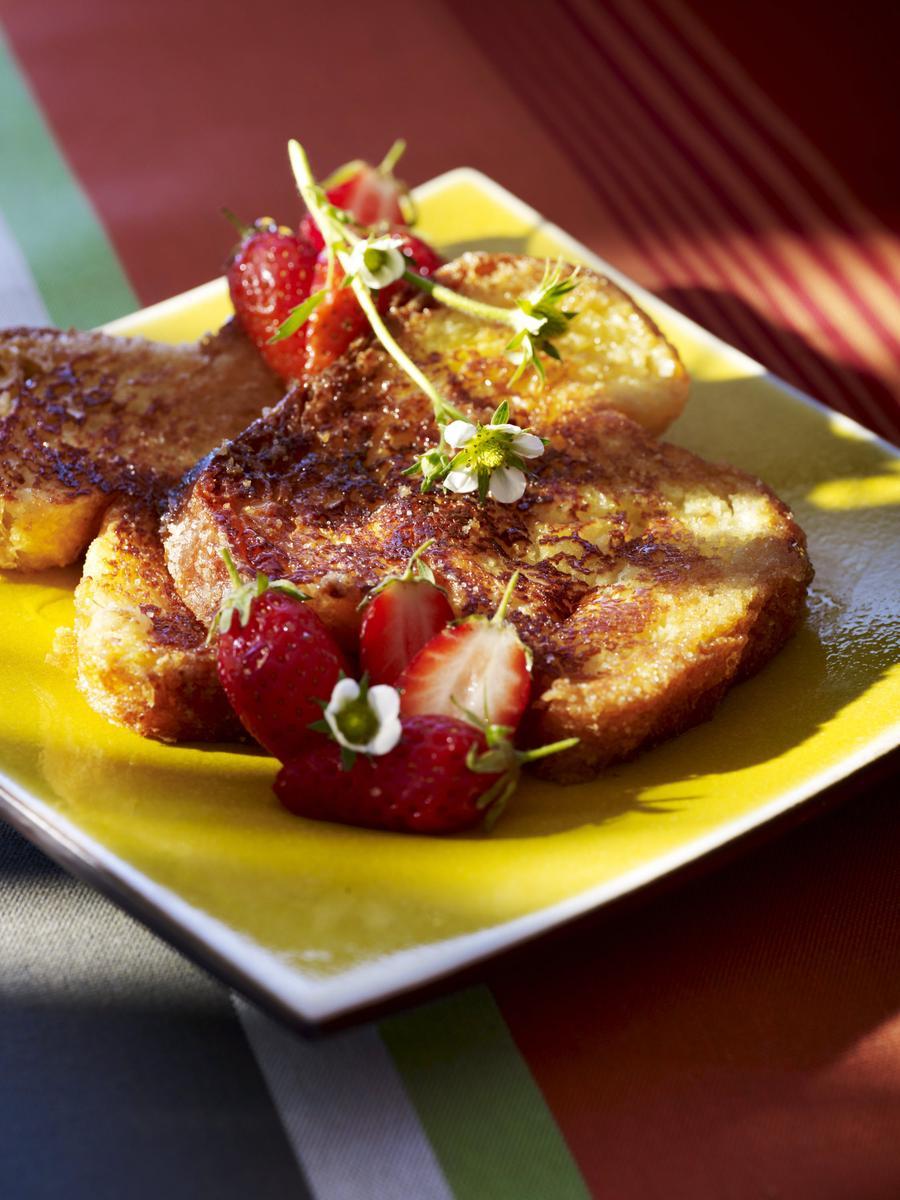 Recette pain perdu aux fraises cuisine madame figaro - Madame figaro cuisine ...