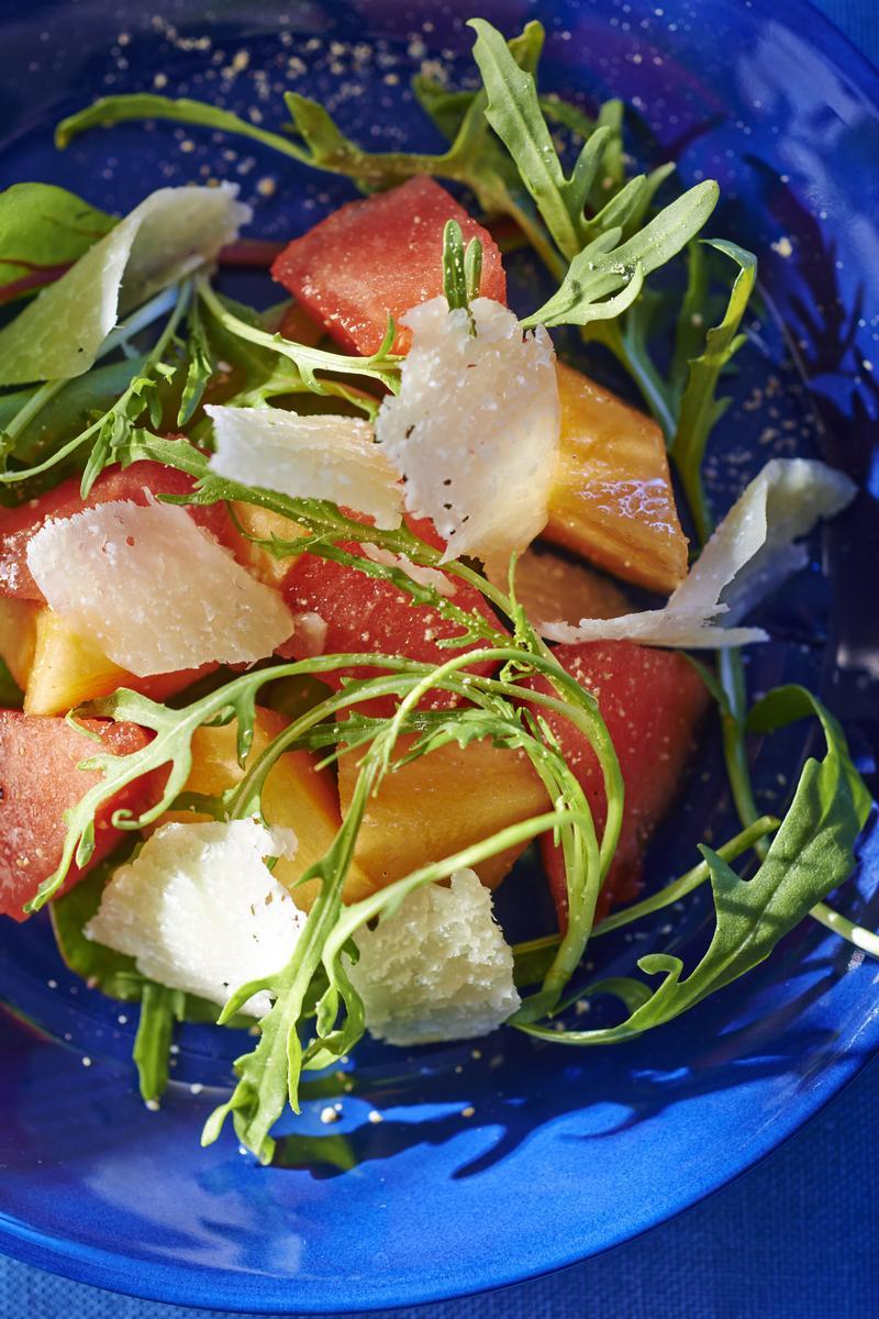 Recette salade melon past que cuisine madame figaro - Salade de pasteque ...