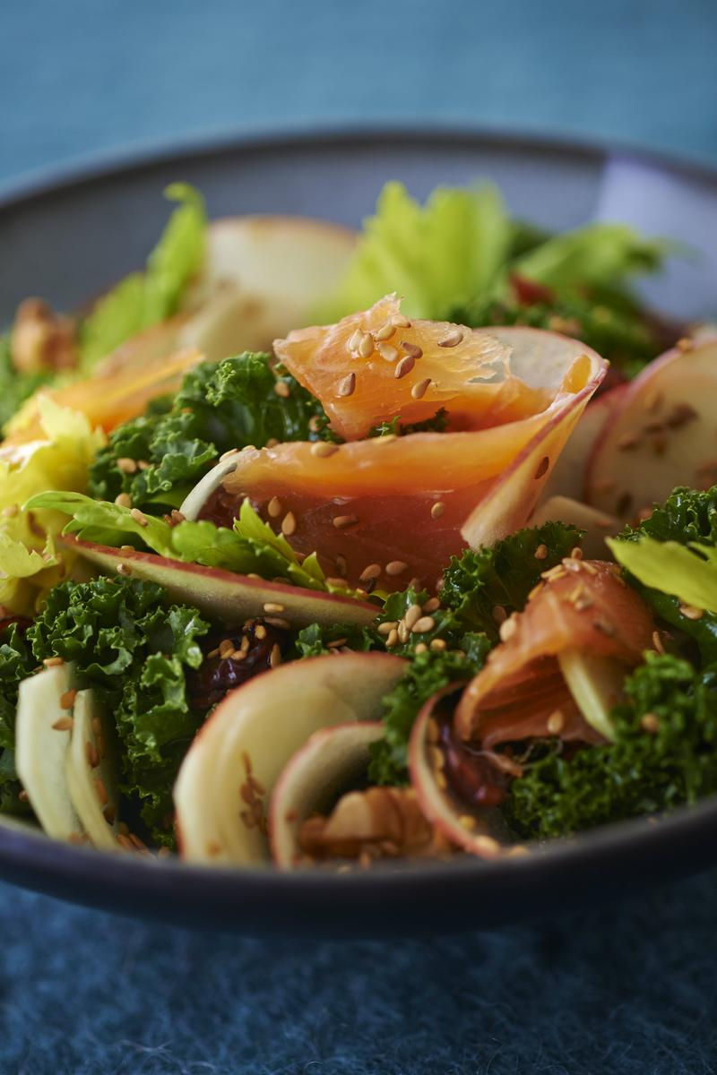 Recette salade nordique cuisine madame figaro for Cuisine nordique