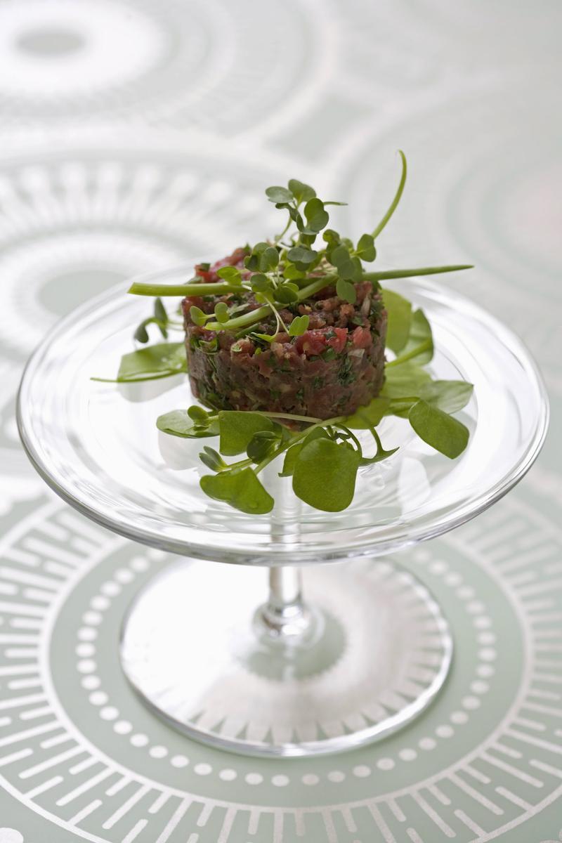 recette tartare de b uf au soja cuisine madame figaro. Black Bedroom Furniture Sets. Home Design Ideas