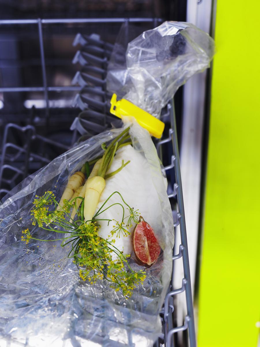Recette poisson blanc cuit au lave vaisselle cuisine - Cuisiner au lave vaisselle ...