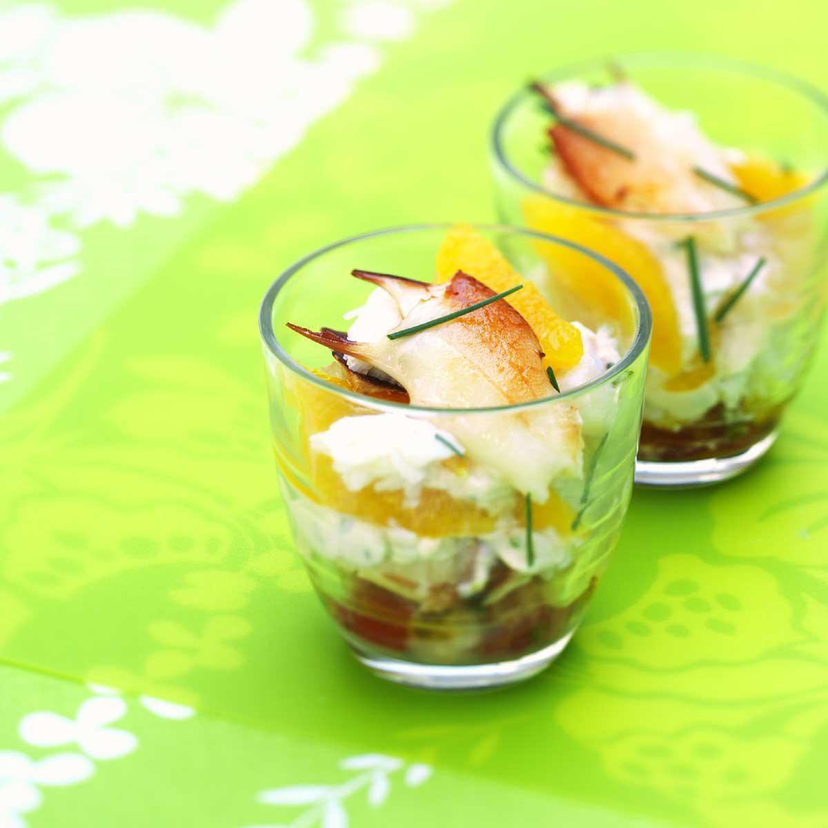 Recette verrines de tourteaux cuisine madame figaro - Madame figaro cuisine ...