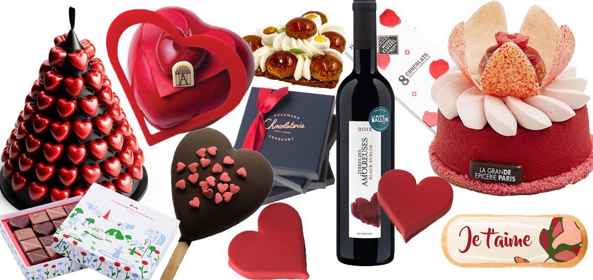 Cyril lignac christophe michalak yann couvreur monoprix - Cuisine saint valentin ...