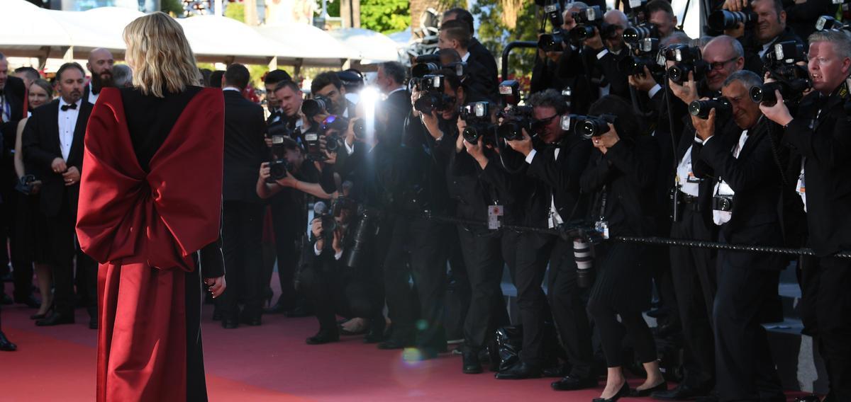 Cate Blanchett illumine une dernière fois le tapis rouge