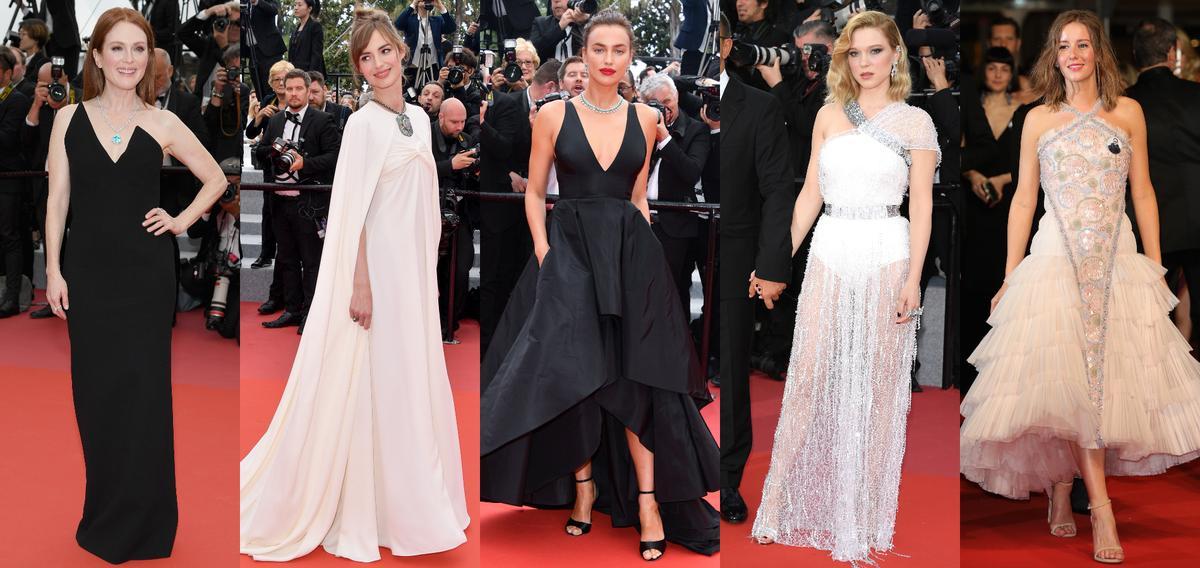 Louise bourgoin julianne moore irina shayk les plus belles robes du festival de cannes - Festival de cannes tapis rouge ...