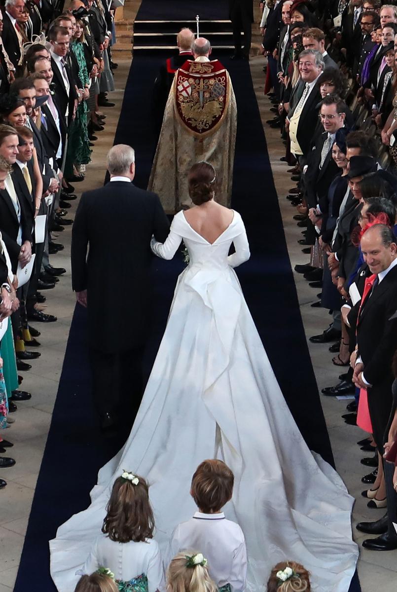 princesse Eugénie et Jack Brooksbank se marie au château de Windsor