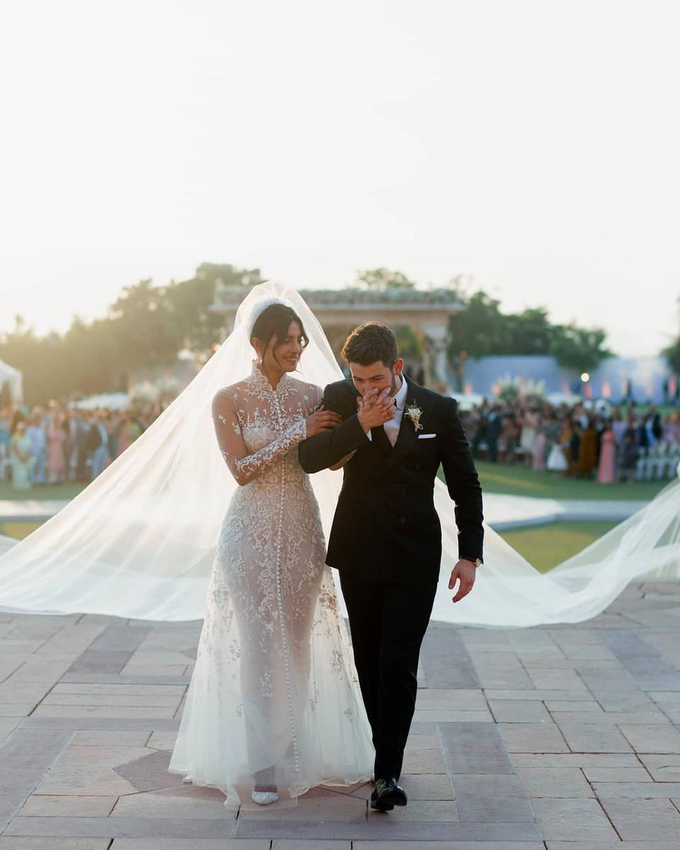 Le mariage bollywoodesque de Priyanka Chopra et Nick Jonas en Inde , Madame  Figaro