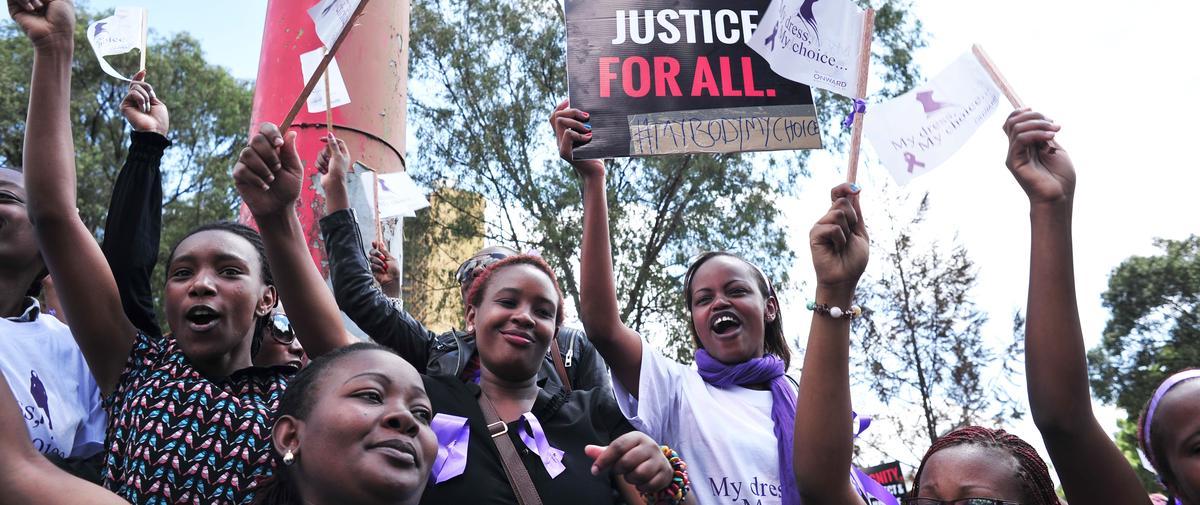 Kenya: Emoi après l'agression filmée d'une femme en minijupe
