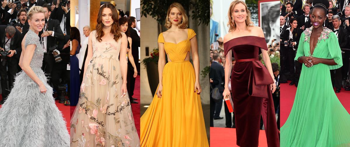 Rétrospective des plus belles tenues sur tapis rouge de l'année