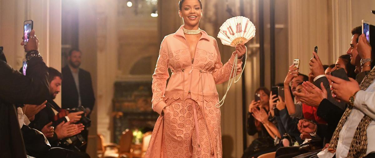 Rihanna présente à Paris sa collection Fenty Puma
