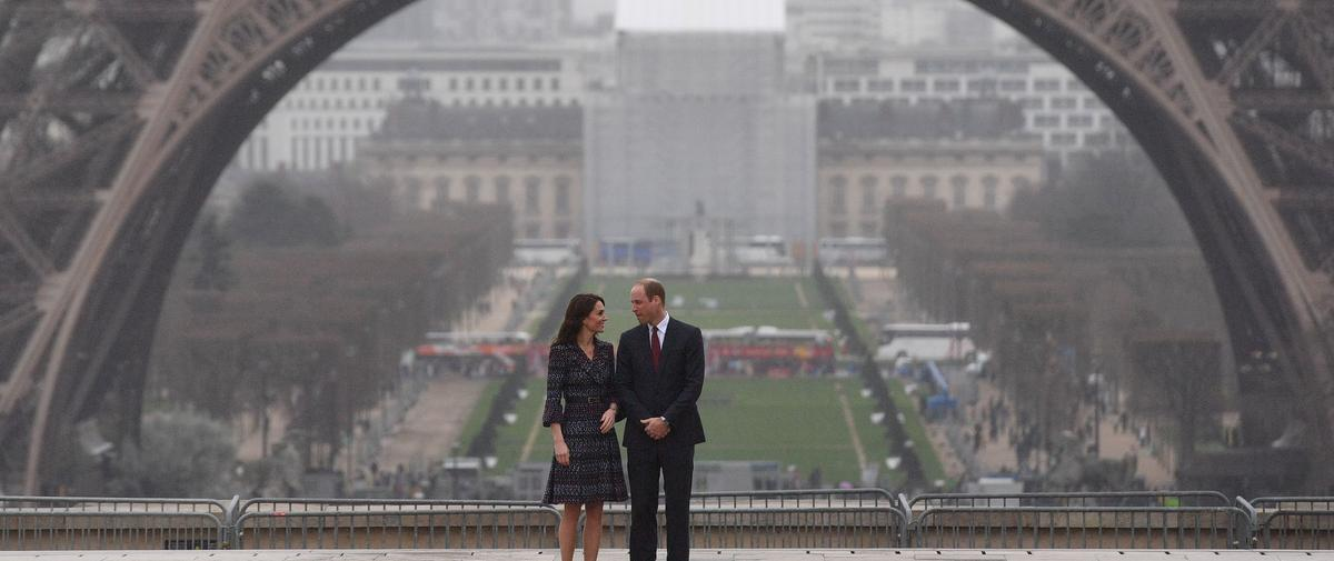 Les photos du voyage de Kate et William à Paris