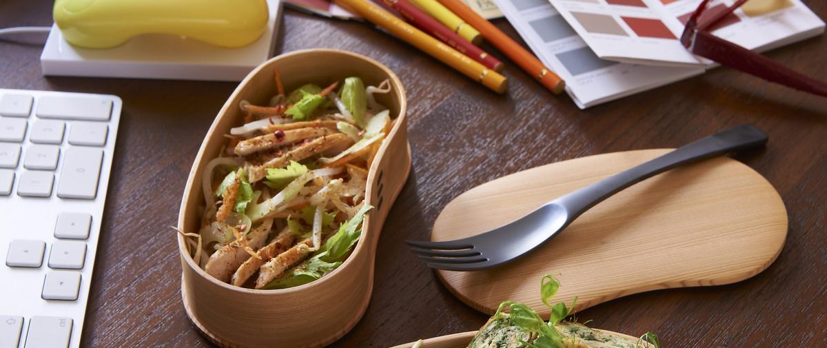 Salade de poulet et soja