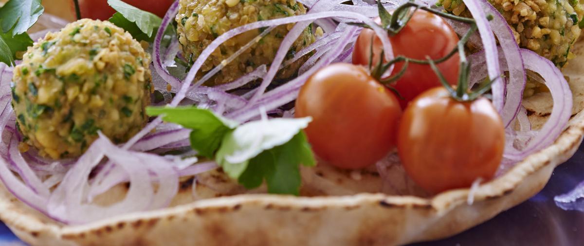 Sandwich aux falafels