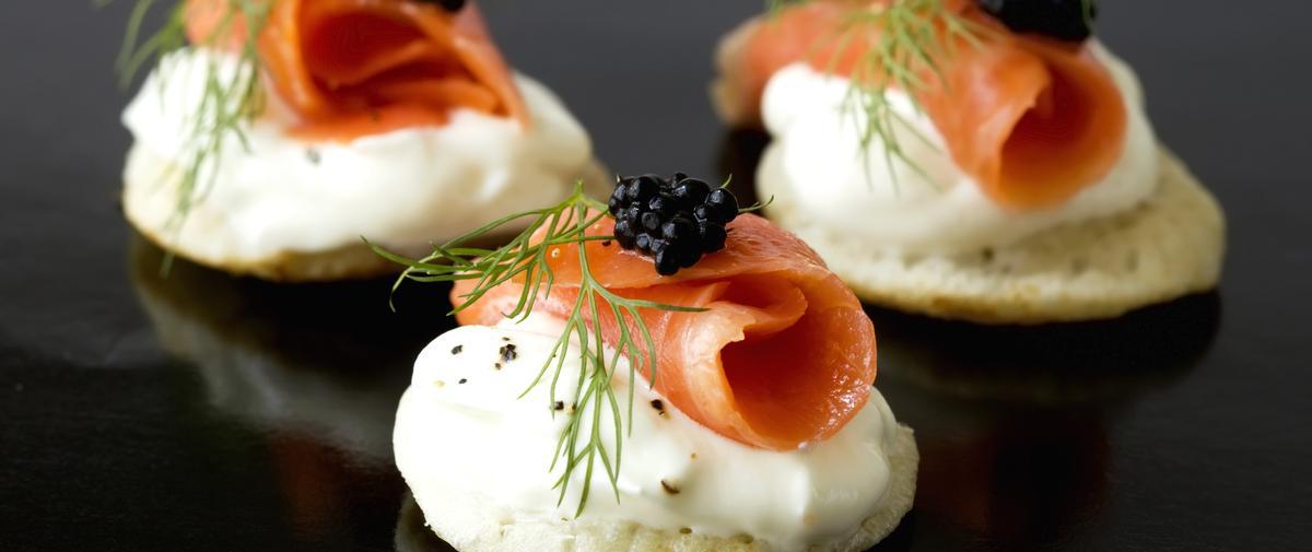 Chics et faciles, nos recettes de saumon fumé pour le Nouvel An