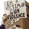 """I'm a victim of gun violence"""