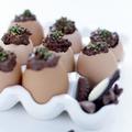 Œufs coques au chocolat
