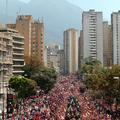 Marée rouge à Caracas