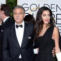George Clooney, Hollywood et Charlie aux Golden Globes