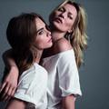 Kate Moss et Cara Delevingne réunies pour Mango
