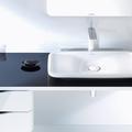 Conseils déco en noir & blanc pour une salle de bains plus graphique