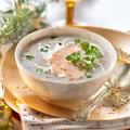 Soupe de châtaignes et foie gras