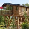 Remportez votre séjour dans une cabane perchée de luxe
