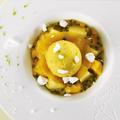 Soupe de fruits exotiques et sa meringue par Andrée Rosier